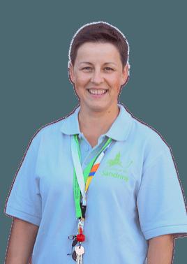 Sandrine Aide soignante au Clocher de Vie